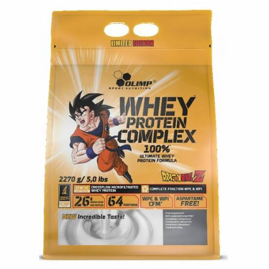 Olimp Dragon Ball Z Whey Protein Complex 100% Limited Edition Zip Bag (2,27kg)