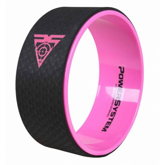 Power System Jóga kerék Yoga Wheel Pro (Rózsaszín)