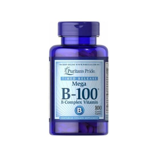 Puritans Pride Vitamin B-100 Complex (100 tabletta)