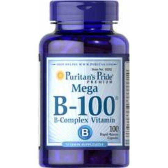 Puritans Pride Vitamin B-100 Complex (100 kapszula)