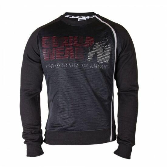 Gorilla Wear Memphis Mesh pulóver (fekete)