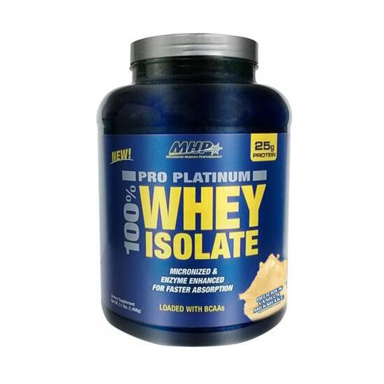 MHP Pro Platinum 100% Whey Isolate (1408g)