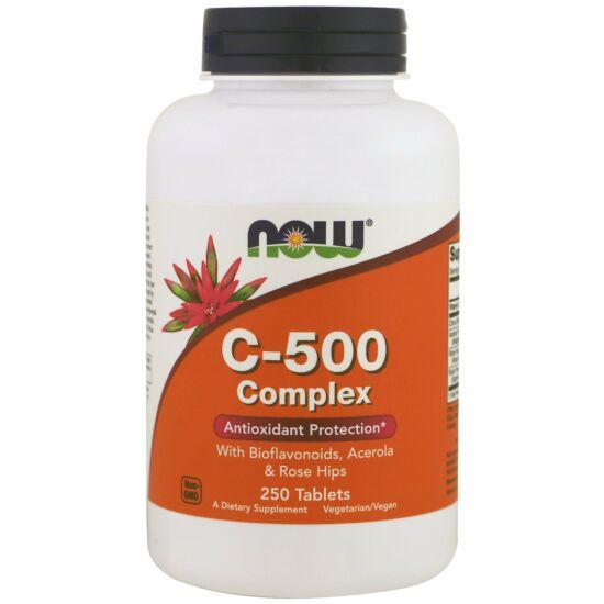 NOW Foods C-500 Complex (250 tabletta)