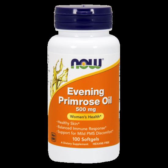 NOW Foods Evening Primrose Oil 500mg (100 lágy kapszula)