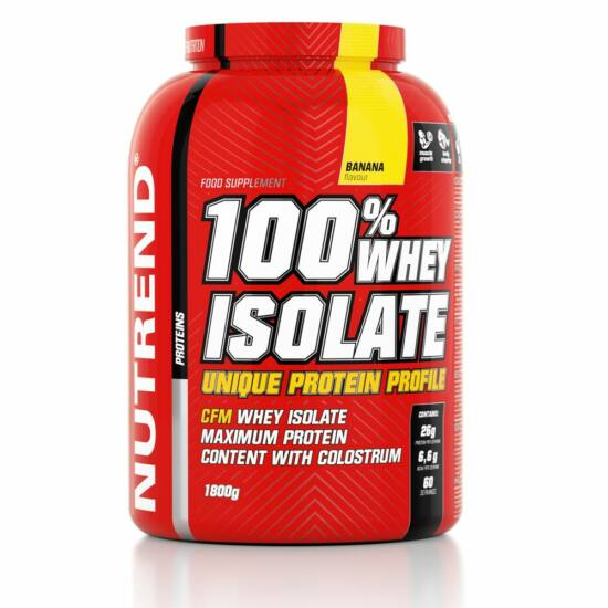 Nutrend 100% WHEY ISOLATE (1800g)