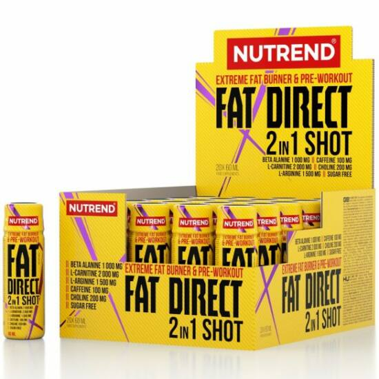 Nutrend Fat Direct Shot (20 x 60ml)