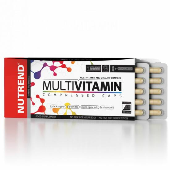 Nutrend Multivitamin Compressed Caps (60 kapszula)