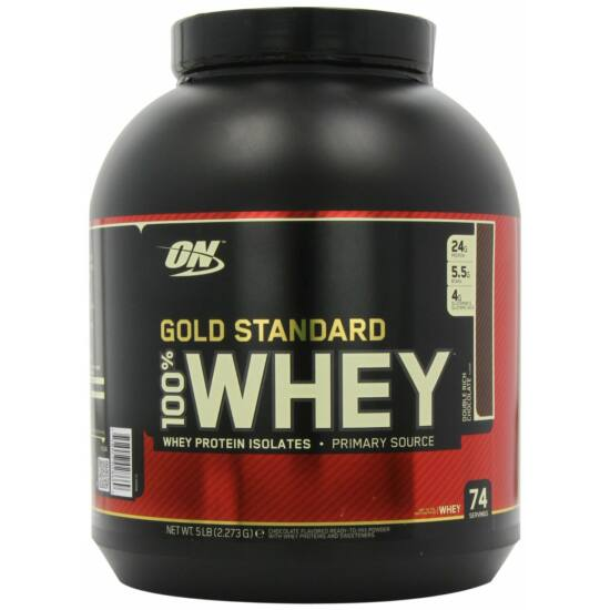 Optimum Nutrition ON Gold Standard 100% Whey (2270g)