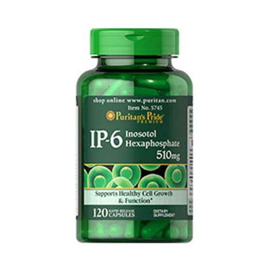 Puritans Pride IP-6 Inositol Hexaphosphate 510mg (120 kapszula)