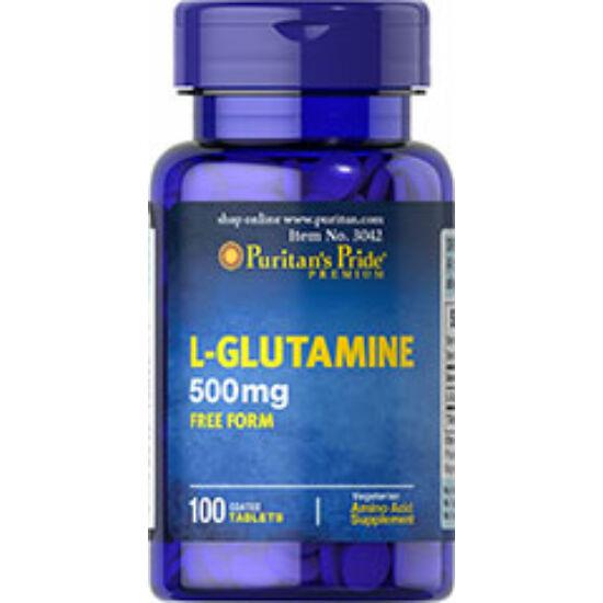 Puritans Pride L-glutamine 500mg (100 tabletta)