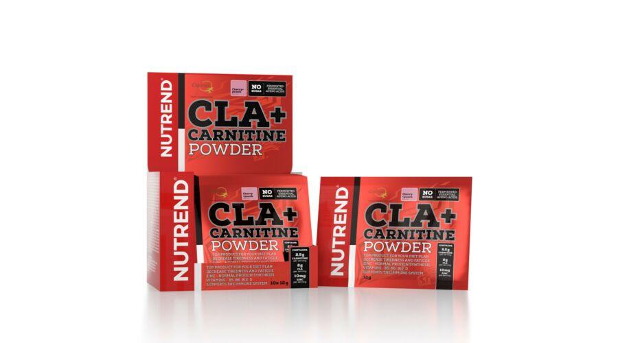 Nutrend CLA + Carnitine Powder (10 x 12g)
