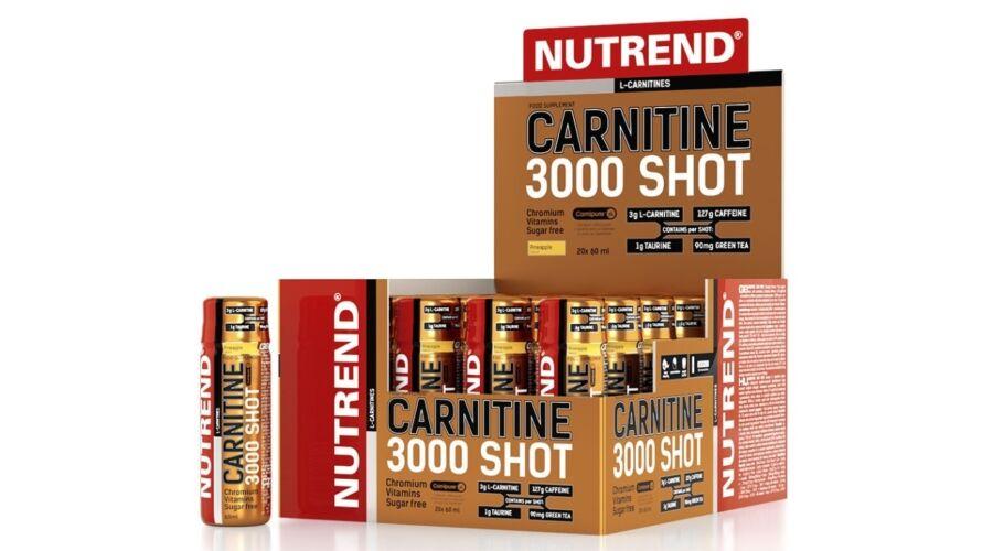 Nutrend Carnitine 3000 Shot (20 x 60ml)